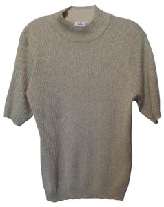Talbots Large No-itch Mock Turtleneck Sweater