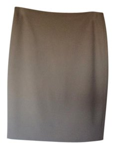 St. John Pencil Skirt Clay