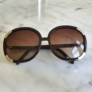 5af799e3986f Brown Chloé Sunglasses - Up to 70% off at Tradesy