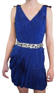 Sachin + Babi Electric Sash Bling Dress