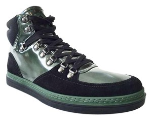 Gucci High-top Sneaker Black/Green Athletic