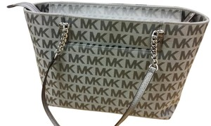 Michael Kors Tote in Ice/Slate/Gummel