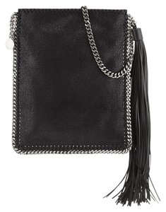 Stella McCartney Fringe Tassel Silver Hardware Cross Body Bag