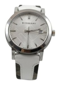 Burberry Burberry White Leather Watch