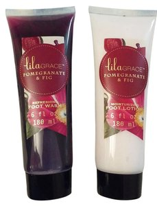 Lila Grace Pomegranate & Fig Foot Wash/Foot Lotion