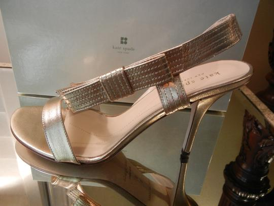 Kate Spade Night Out Dressy Metallic Gold Sandals