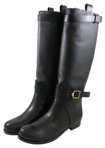 Chlo Equestrian Penny Lane Luxury Black Boots