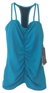 Nancy Rose Performance Ruched Front Tank