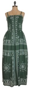 GREEN Maxi Dress by EXPOSED Smocked Maxi