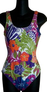 Other SWIMSUIT M 8 10 BY CATALINA 1PC FLORAL DESIGN SOFT CUP PADDING LN