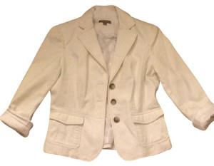 Ann Taylor White Jacket