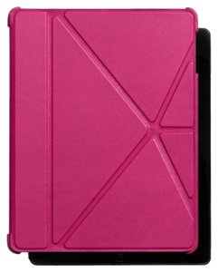 Coach NWT**COACH BLEECKER LEATHER IPAD 4 CASE STYLE# 66725 MSRP: $198, 3 COLORS, Black, Fawn and Fuchsia