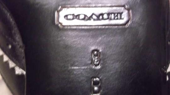 Coach Small Heels Size 8 Closed Toes Black Formal