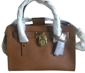 MICHAEL Michael Kors Satchel in Luggage (brown)
