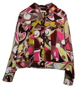 Emilio Pucci Printed Multicolor Jacket
