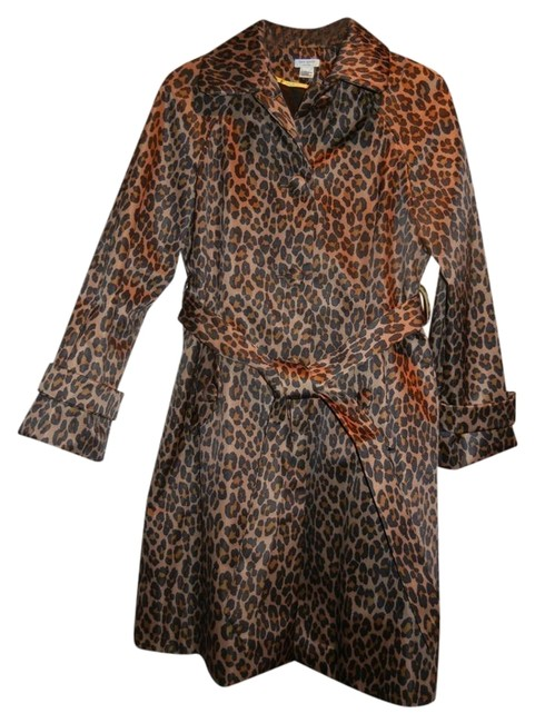 Preload https://item3.tradesy.com/images/kate-spade-leopard-print-trench-coat-size-8-m-1707117-0-1.jpg?width=400&height=650