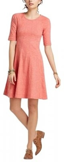 Preload https://img-static.tradesy.com/item/170714/ganni-coral-threaded-trails-swing-from-anthropologie-above-knee-workoffice-dress-size-6-s-0-0-650-650.jpg