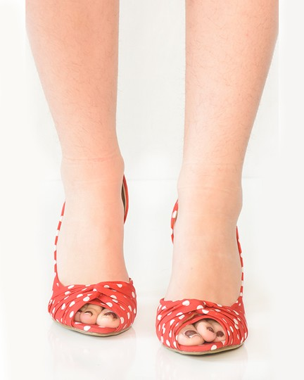 Call It Spring Red Pumps