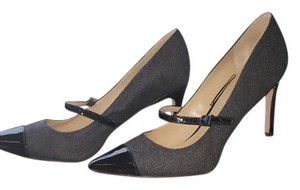 Via Spiga Grey and Blakc Pumps