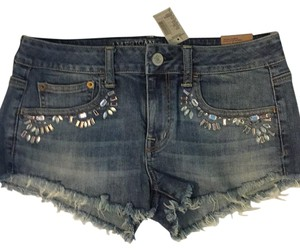 American Eagle Outfitters Board Shorts Blue