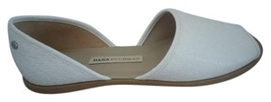 23fd189c34ef48 Dana Buchman Excellent Condition Size 8.5 Open Toe Never Worn White Sandals