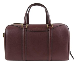 Burberry Satchel in Mahogany
