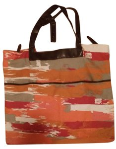 BCBGMAXAZRIA Canvas Multi Beach Bag