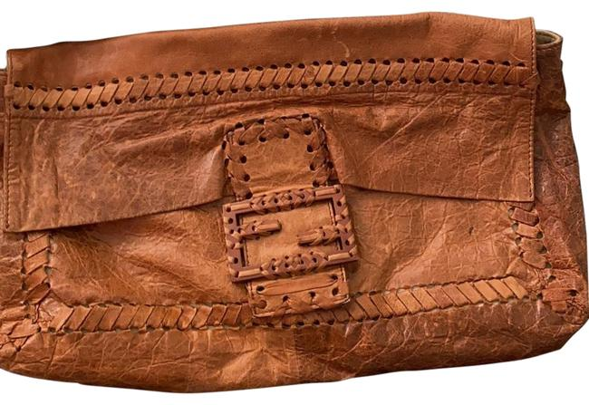Item - Amazing Brown Leather Clutch