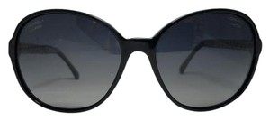 Chanel ***SALE***-Chanel Round Chain Polarized Black Sunglasses 5304 C501/S8