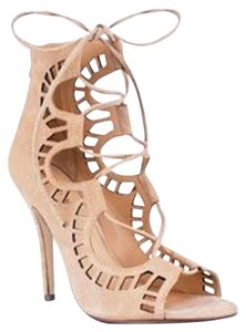 Modern Vice Leather Nude Sandals