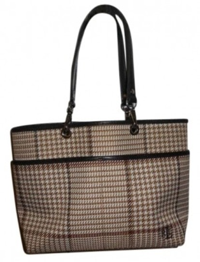 Lauren Ralph Lauren Tote in Brown plaid