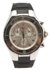 Michele Michele Tahitian MWW12F000033 Jelly Bean Stainless Steel Quartz Chronograph Watch (85966)