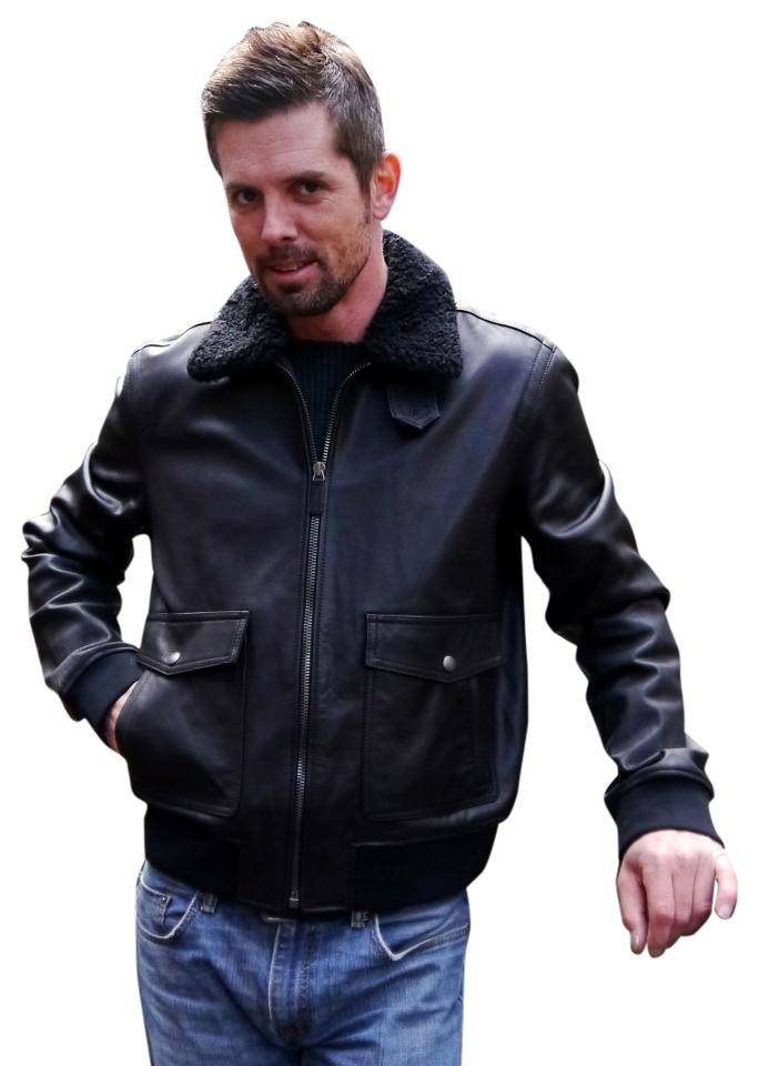 Leather Jackets: disborunmaba.ga - Your Online Jackets Store! Get 5% in rewards with Club O! Coupon Activated! TODAY ONLY: $40 off $, even sale items! Code: TAKE Black Cross Men's Leather Bomber Jacket. Quick View $