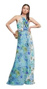 Reformation Maxi Night Out Foral Dress