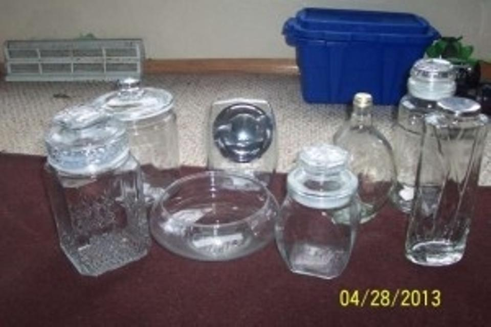 Clear Candy Buffet Jars Lot Of 40 Reception Decoration Tradesy Delectable Candy Buffet Jar Decorations