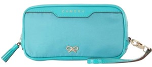 Anya Hindmarch Turquoise Clutch