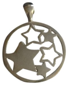 Lia Sophia NEW Lia Sophia Necklace Slide Stars Silver
