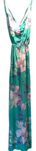 Multi Maxi Dress by Yumi Kim Maxi Floral Silk Buttons Slits