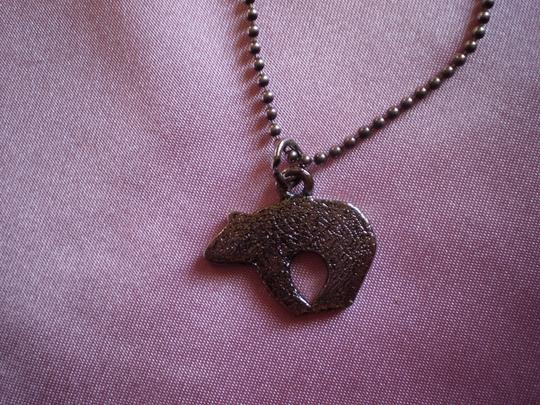 Other Bear on Sterling Silver Chain.
