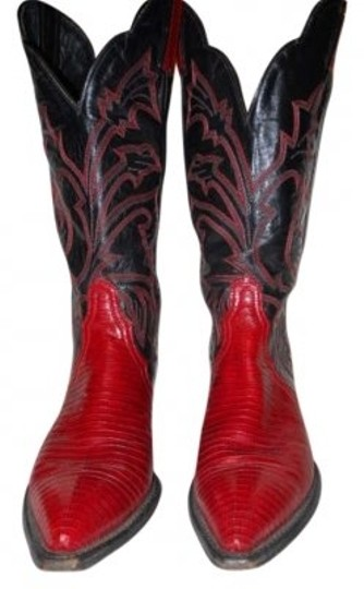 Preload https://item1.tradesy.com/images/tony-lama-black-and-red-western-bootsbooties-size-us-6-170755-0-0.jpg?width=440&height=440