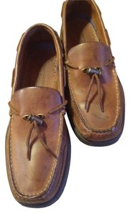 Sperry Men's 11 Loafers Boat Top Tan & Brown Boots