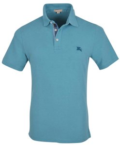 Burberry Men's Polo T Shirt Blue