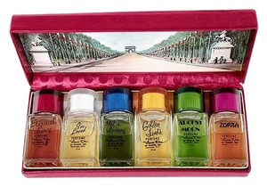 Louis D'Or of France The Famous Six Perfumes Louis D'Or of France 1955 Vintage Johnny Carson