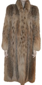 Dior Glamorous Fur Lynx Fur Full Length Fur Coat