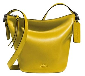Coach Tote in Lime