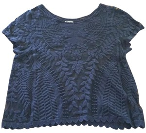 Express Top Navy blue