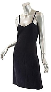 Prada Wool Stretch Spaghetti Strap Dress