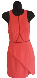 Three of Something short dress hot coral Bright Sexy on Tradesy