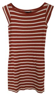 French Connection short dress Red/White on Tradesy