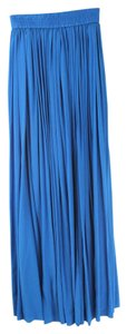 Yigal Azrouël Blue Blue Maxi Skirt azure blue